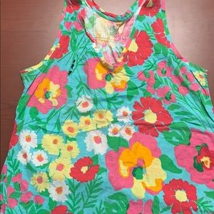 Lilly Pulitzer racerback tank top